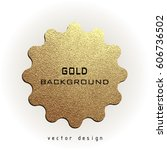 premium quality golden label... | Shutterstock .eps vector #606736502