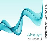 abstract background with blue... | Shutterstock .eps vector #606765176