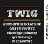 typeface vector | Shutterstock .eps vector #606805442