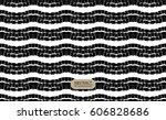 hand drawing seamless pattern.... | Shutterstock .eps vector #606828686