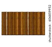 wooden fence. wood plank... | Shutterstock .eps vector #606859952