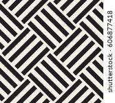 repeating geometric stripes... | Shutterstock .eps vector #606877418
