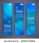 abstract banners. vector eps10... | Shutterstock .eps vector #606914006