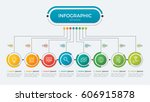 presentation business... | Shutterstock .eps vector #606915878