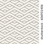 geometric seamless pattern.... | Shutterstock .eps vector #606931406