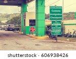 san ignacio  belize   december...   Shutterstock . vector #606938426