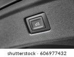 automatic electric car trunk... | Shutterstock . vector #606977432