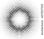 grunge halftone background....   Shutterstock .eps vector #607057532