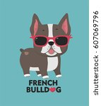 Dog Breed French Bulldog. A...