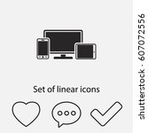 monitor  phone  tablet  icon....