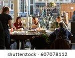 amsterdam  netherlands   21... | Shutterstock . vector #607078112