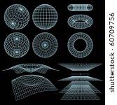 geometry  mathematics and... | Shutterstock .eps vector #60709756