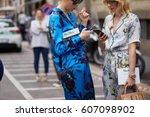 milan  italy   september 22 ... | Shutterstock . vector #607098902
