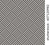 repeating geometric stripes... | Shutterstock .eps vector #607120982