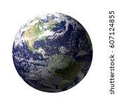earth   Shutterstock . vector #607124855