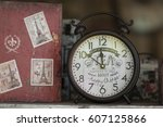 Small photo of RAATCHA-BURY, THAILAND- FEB 19:An unidentified souvenir shop locates an antique alarm clock on the display. on February 19,2017 at Suan-Phueng in Raatcha-bury, Thailand.