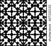vector monochrome texture ... | Shutterstock .eps vector #607232132