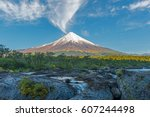 The Osorno Volcano During...