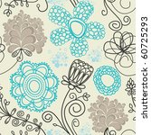 Floral Seamless Background In...
