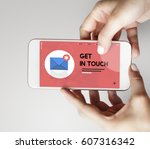 message letter e mail chat... | Shutterstock . vector #607316342