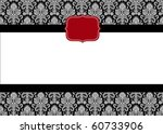 Vector Red Seal And Ornate...