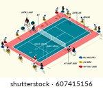 illustration vector info... | Shutterstock .eps vector #607415156