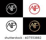 ap text logo | Shutterstock .eps vector #607553882