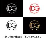 dg text logo