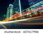 urban roads in the city | Shutterstock . vector #607617986