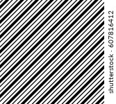 abstract black and white... | Shutterstock .eps vector #607816412