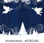 christmas angels. all elements... | Shutterstock .eps vector #60782182