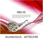 curved photographic film. vector | Shutterstock .eps vector #60782248