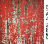 old  grunge wood panels used as ... | Shutterstock . vector #607877246