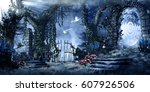 Fantasy Scenery With Ruins ...