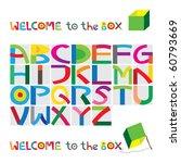 box character set   Shutterstock .eps vector #60793669