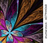 Beautiful Fractal Flower Or...