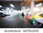 blurred  background abstract... | Shutterstock . vector #607961345