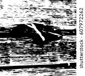 black and white vintage grunge... | Shutterstock .eps vector #607972262