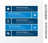 modern infographic options...   Shutterstock .eps vector #608006195