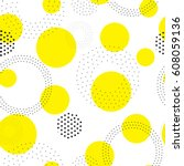 vector geometric seamless... | Shutterstock .eps vector #608059136