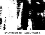 abstract black and white grungy ... | Shutterstock .eps vector #608070056