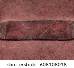 Old Red Leather Background For...