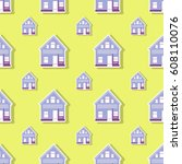 pattern building | Shutterstock .eps vector #608110076