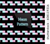 pattern rectangle | Shutterstock .eps vector #608119316