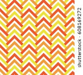 chevrons and triangle slab... | Shutterstock .eps vector #608169272