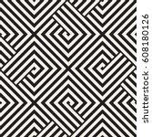 repeating geometric stripes... | Shutterstock .eps vector #608180126