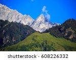 mountain landscape near manali  ... | Shutterstock . vector #608226332