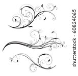 vector illustration set of... | Shutterstock .eps vector #60824065