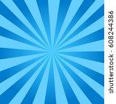 Sunburst  Blue Background....