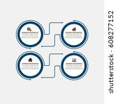 modern infographics design... | Shutterstock .eps vector #608277152